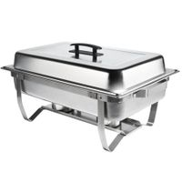 F433 Folding Chafing Dish Sets Chafer Warmer Catering