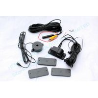 car rear view camera 2026 with parking sensor,camera and sensor 2 in 1,night vision,no need drill