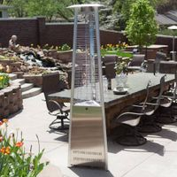 Glass tube Tower type patio heater thumbnail image
