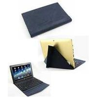 New arrival! transformer style bluetooth keyboard leather case for 10 inch tablet
