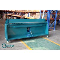 THE USE OF DUCT FOLDING MACHINE