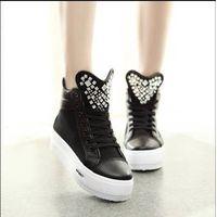 2014 leisure high-heeled canvas shoe thumbnail image
