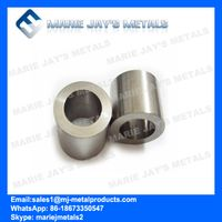 Tungsten carbide bushes