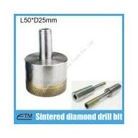 intered diamond thin wall hole saw for glass ceramic core drill bit China made abrasive tools