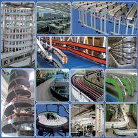 food grade aluminum inclined chain conveyor thumbnail image