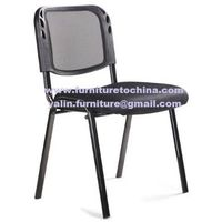 mesh visitor chair, stacking reception seat, conference meeting chair, office furniture