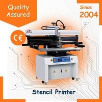Semi-auto Flated PCB screen printer