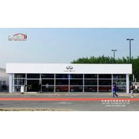 High Quality Cube Roof Aluminum Tent for Car Show