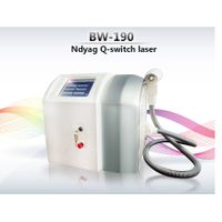 Portable Q Switch Nd: yag Laser for Tatto/Birthmark Removal 1064nm&532nm