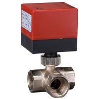 3 Way Thermostatic Brass Motorized Ball Valves (DQ320)