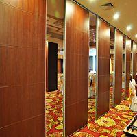 80 MM Thickness Banquet Sliding Doors Interior Room Divider for Hotel