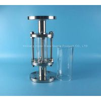 clear crystal borosilicate glass tube