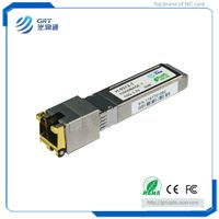 H-9312-T Hot-pluggable 10GBASE-T Copper RJ-45 SFP+ Optical Transceiver Module