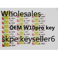 wholesale OEM FPP Coa Sticker W10 pro coa label, stickers, key card,w10 oem key