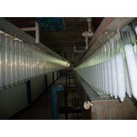 Natural latex condom manufacture