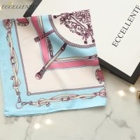 2021 High-End Printed Silk Small Square Towel Can Be Used in Spring, Autumn and Winter