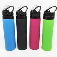 wholesale Collapsible Pocket-sized Travel Water Bottle 20 oz