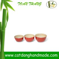 Best-selling bamboo salad bowl,fruit bowl and homeware, kitchen furniture