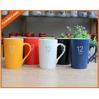 12oz Promotional logo printed advertising mug