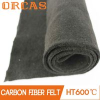 Environmental household fire blanket carbon fiber felt