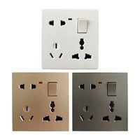 1 gang 8 pin wall socket
