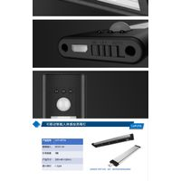 Motion Sensor Cabinet Light, 3-LED Under Counter Closet Lighting,Wireless USB Rechargeable Kitchen N thumbnail image