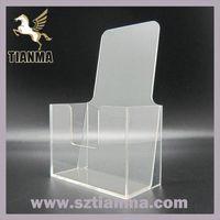 Custom Any Size Acrylic Brochure Holder Factory