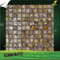 gold color shell mosaic thumbnail image