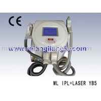 2011newest !!IPL+ Laser tattoo removal machine(2 into 1)