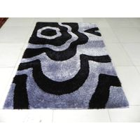100% polyester shaggy rugs manufacturer