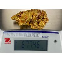 raw gold/ gold nugget
