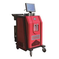 Manufacture Visual cleaning Refrigerant Gas R134a HVACac refrigerant recovery and charging machine