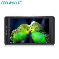 "FEELWORLD F450 4.5"" 4K On-camera Monitor with HDMI Input/ Output IPS HD 1280x800"