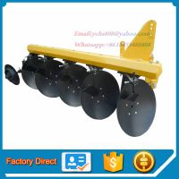 Agricultural tractor mounted baldan disc plough