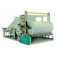 Automatic High Speed Toilet Paper Roll Cutting RewindingMachine