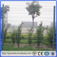 2x2.5m size galvanized welded wire mesh fence(Guangzhou Factory)