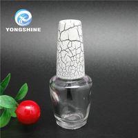 15ml elegent glass bottles for nail polish oil made in xuzhou