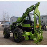SL8200 4 wheels sugarcane loader, sugarcane loading machine