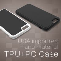 Factory Newest Design High Quality Tpu+pc Anti Gravity Mobile Phone Case Cover For Apple Iphone 7