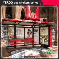 Bus stop shelter with PC proof and advertisement light box thumbnail image