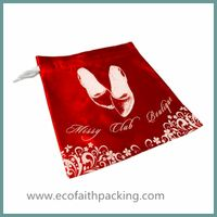 satin shoes bag, satin dust bag