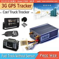 3G GPS Car Tracker 3G Vehicle GPS Tracker WCDMA Fuel Temperature Monitor