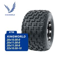Solid ATV Tire 20x9.50-8 20x10-9