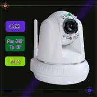 ptz wifi security ip camera support two way audio