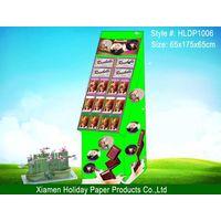 POP display stand, display rack, pop display, cardboard display, floor display thumbnail image