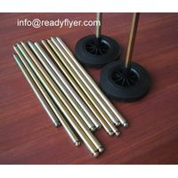 mobile garbage bin wheels and solid axles