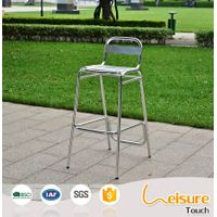 Hot Sale Aluminum Bar Chair without Armrest