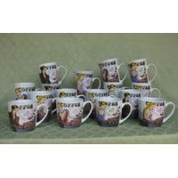 A Beautiful Girl And Coffee Bean Ceramic Mugs thumbnail image