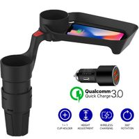 CUPLUS V2(car cup holder, car, wireless charger) thumbnail image