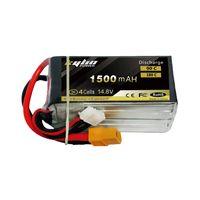 High power lipo battery 1500mah 14.8V 90C FPV Racing packs